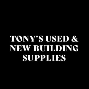 TONYS USED NEW BUILDING SUPPLIES