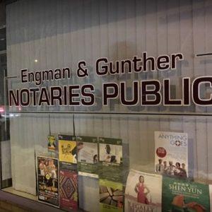 ENGMAN GUNTHER NOTARIES PUBLIC